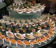 un buffet d'un casino à Vegas